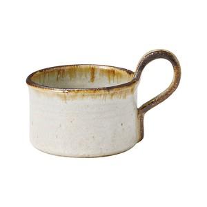 信楽焼 へちもん スープ マグ ホワイトタグ MR-3-3315