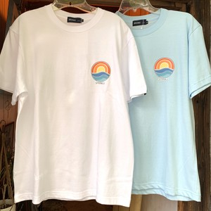 "SPRAWLS*半袖Tシャツ""Sun Wave"""