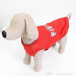 【XL・XXL】犬服 シンプルロゴ 4013