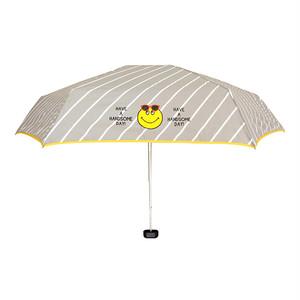 ★セール★ accommode(アコモデ) スマイル 折りたたみ傘(晴雨両用)