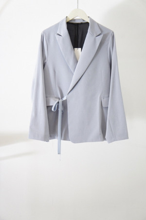 Double Breasted Jacket -SKY BLUE- / THEE