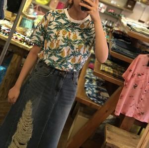 ヤシの木柄★Tシャツ