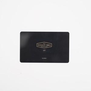 DOGGY BRO.(ドギーブロ) ギフトカード【ブラックカード】