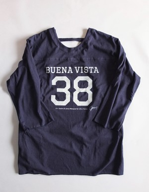 ULTRA HEAVY 別注 Football coverall Apron/Navy[ジェリー鵜飼氏 デザイン]