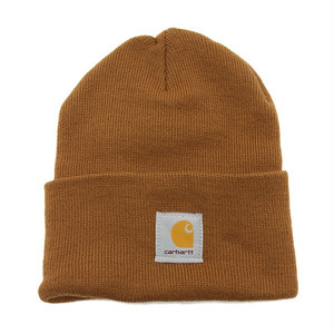 Carhartt (カーハート)ACRYLIC WATCH HAT - Brown