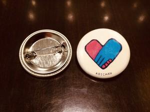 【主催者向け】10個まとめて購入「恋活マーク」缶バッジ