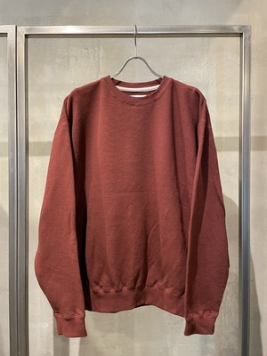 TrAnsference crewneck sweat top - dark red