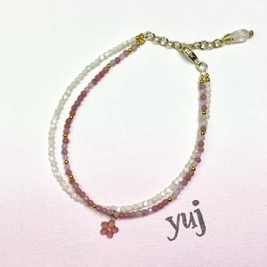 yuj 桜 ブレスレット