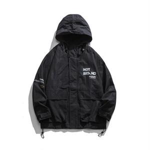 【UNISEX】マウンテン パーカー フード ジャケット ビックポケット【2colors】