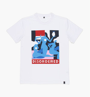 by Parra - t-shirt disordered (white)