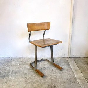 Industrial School Chair 1950's オランダ