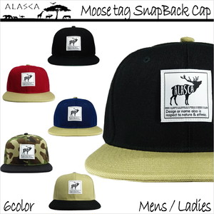 Moose tag SnapBack Cap as-13