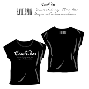 "Eins:Vier ""Searching For Me"" オフィシャル ドルマンTEE"