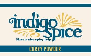 indigo Curry Powder 100g パック レシピ付き