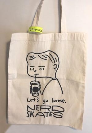 cheap bag(Let's go home_A3size bag)