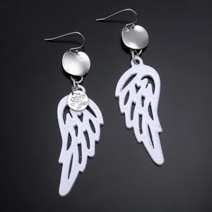 Angel wings earring