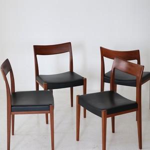 Dining chair (set of 4) /  Yngve Ekstrom for Troeds