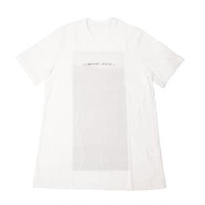 707CPM1-WHITE / アバランチバックプリントTシャツ