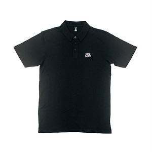 OUR LIFE - STACKED BARREL POLO (Black)