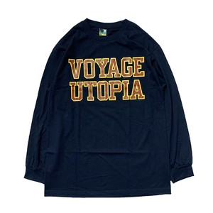 VOYAGE UTOPIA / COLLEGE L/S -NAVY-