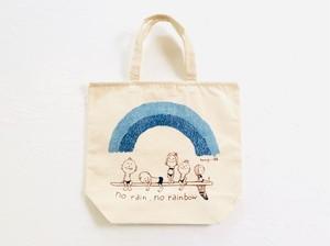 Tomio × iBB 藍染 阿波和紙プリント・オリジナルトートBag