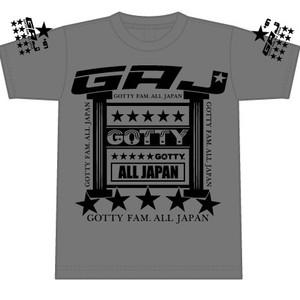 GOTTY ALL JAPAN★200着限定Tシャツ (Mens Gray)