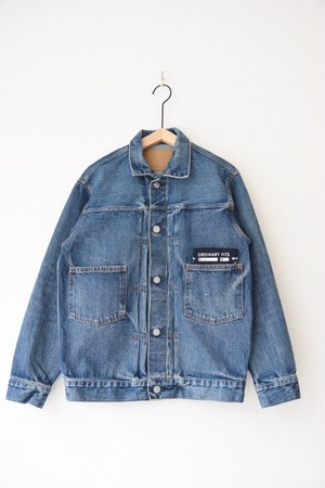 """RESTOCK""【ORDINARY FITS】OF-J013 DENIM JACKET 1ST used"