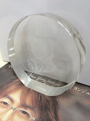 冬ソナ クリスタルガラス