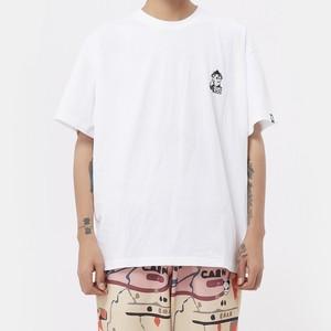【HIPANDA】メンズ Tシャツ MEN'S I WANT YOU PRINT SHORT SLEEVED T-SHIRT / WHITE