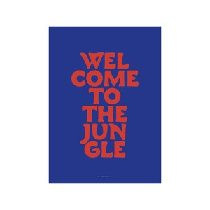 PLTY - Poster - Weightless - Welcome to the jungle - A3size