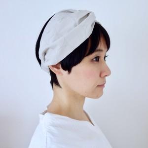 しゃぼん刺繍のヘアバンド [マッシュルーム]