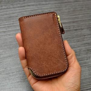 小銭入れ付カードケース「ティオチコ・ダークブラウン」