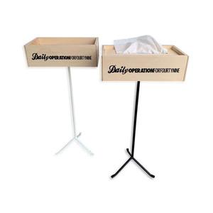 49 Original Tissue Box w/Stand