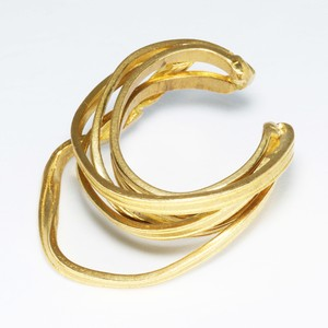 ribbon ring B (brass)