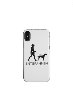 ENTSPANNEN iPhoneケース