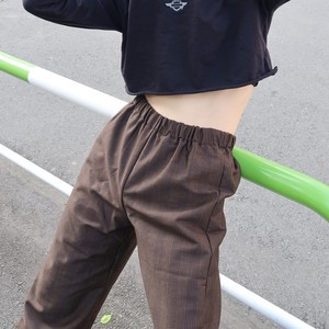 【予約商品】Wide PJ Pants (Brown)