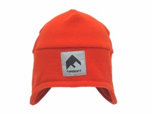 "FLEECE  2WAY CAP""Mt LOGO""  ORANGE"