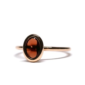 Hermès Vintage 18k Rose Gold Ring