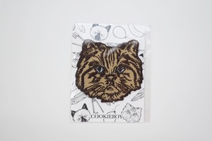 CAT APPLIQUE(Bob)BROWN