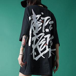 【トップス】ストリート系アルファベットプリントTシャツ30678078