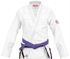 【送料無料】BJJ Kimono - Kaizen Athletic ホワイト 【ブラジリアン柔術道衣・柔術道着】