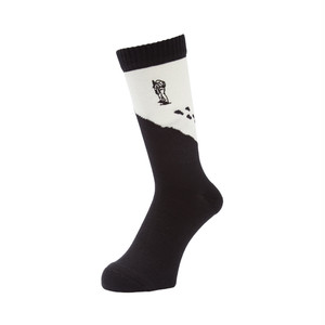 WHIMSY - GEZAN TOZAN SOCKS (Black)