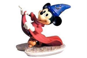 ディズニーフィギュア ファンタジア wdcc ミッキーマウス魔法使いの見習い ディズニー置き物 11K-41016-0
