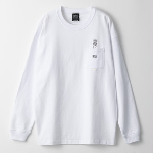 UNO SHIT L/S TOP with pocket *Illustration by TOMOO GOKITA