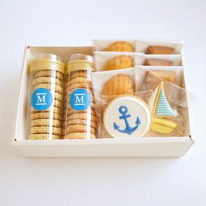MILEY焼菓子ギフトBOX  Ⅳ (碇 ブルー)