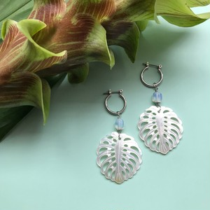 Monstera pierce / earring