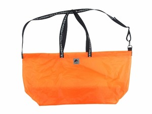 NYLON CAMP BAG ORANGE 18AW-FS-63
