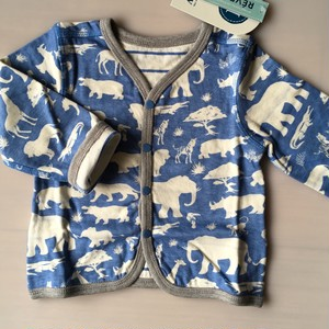 SALE Hatley Safari Reversible mini Cardigan リバーシブルカーディガン