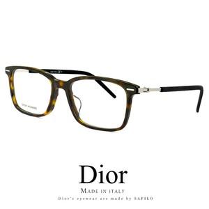 メンズ DIOR HOMME メガネ technicity06f-086 眼鏡 ディオール オム スクエア ウェリントン