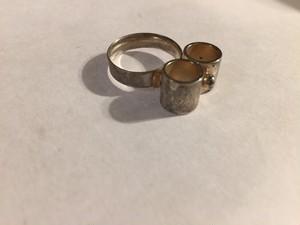 【調整可能】Vintage 925 ring